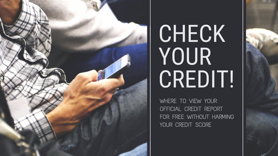 Check Your Credit!